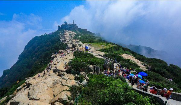 五岳独尊泰山风景区成人大门票(红门/天外村登山地点选择)刷身份证
