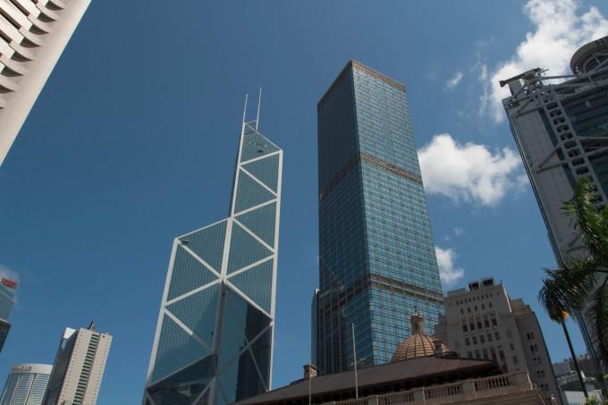 香港中环中银大厦