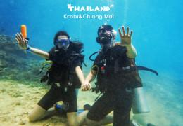 从泰南到泰北,甲米、清迈的上天入海之旅,顺便拍了婚纱照