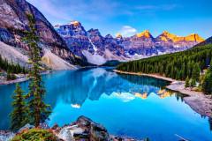 九天,飞跃加拿大的朗朗秋日
