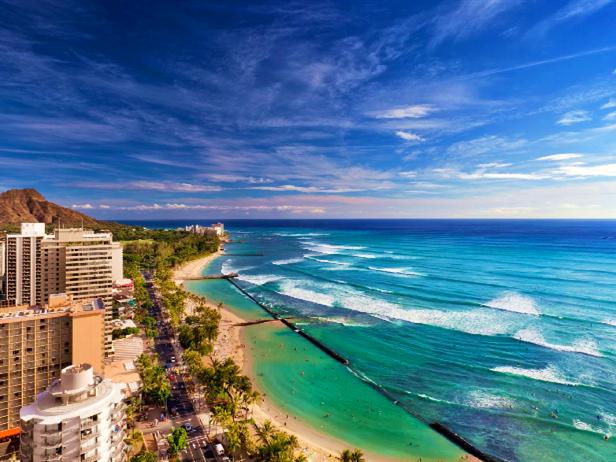 离岛 主要岛屿:夏威夷群岛,塞班岛,关岛 夏威夷群岛:夏威夷由散落在