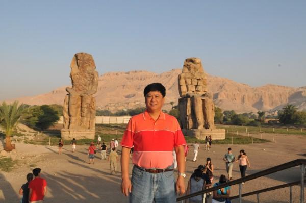 埃及游记 探访门农神像 帝王谷 孟菲斯 世界文化遗产 1979年图片