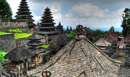 巴厘岛布撒基寺 克隆宫 德格拉朗梯田 蝙蝠洞(接送 2人起订)14615