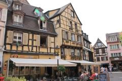 法国的科尔马小镇和斯特拉斯堡