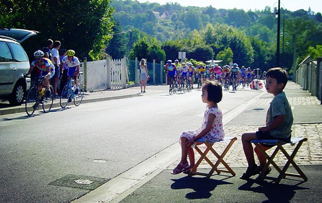 爱上自行车